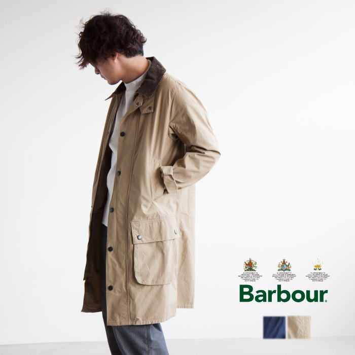 (MCA0376)Barbour(バブアー)SL(SLIM) OVERDYED BORDER(スリムフィットオーバーダイドボーダー/コート)【送料・代引き手数料無料】【ゆうパケット対象外】D:WOODY COMPANY