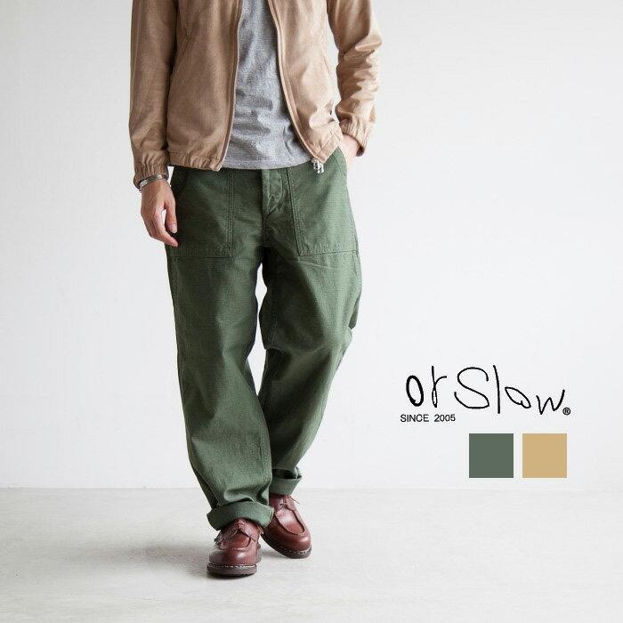 メンズファッション, ズボン・パンツ 3201-5002-1640orSlow()MENS US ARMY FATIGUE()K2420:00-262359