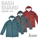 メンズ ラッシュガード ( 3L/ 4L ) 3色 rashguard UVカット 紫外線カット 海 川 湖 プール 水泳 サーフ...