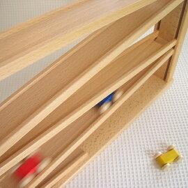 木のおもちゃスロープトレインカースロープベック社クネクネバーン・大【ベックドイツ木のおもちゃ出産祝い誕生日1歳2歳3歳知育玩具くるま車】