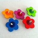 かわいいお花の木製こまドイツ/ベック社 花こま