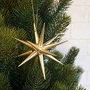 金の星 オーナメント 立体(大) 直径10cm 【クリスマスツリーの飾り】