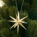 金の星 オーナメント 立体(小) 直径7cm 【クリスマスツリーの飾り】