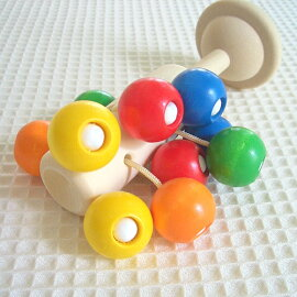ネフ社naefガラガラドリオ【おもちゃ木のおもちゃ木製知育玩具出産祝い人気がらがらおしゃぶりラトルベビーネフドリオ】