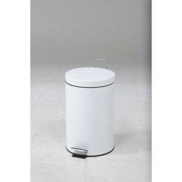 ゴミ箱 ごみ箱 ダストボックス くずかご キッチン リビング おしゃれ カフェ スリム ペダル 20L ホワイト 白 20 20リットル 蓋付き 20l ふた付き 蓋 つき
