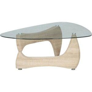センターテーブル ローテーブル ガラス ナチュラル 【 ガラステーブル リビングテーブル ダイニングテーブル ちゃぶ台 サイドテーブル コーヒーテーブル 座卓 送料無料 送料込 ポイント 】