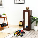 下駄箱 シューズラック シューズボックス 靴箱 オフィス おしゃれ 北欧 収納 安い 薄型 スリム 約 幅30 木製 コンパクト 小さい 一人暮らし 鏡付き ミラー 縦長 省スペース タワー ロータイプ 扉