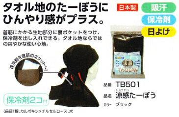 【熱中症対策】NO.TB501涼感たーぼう保冷剤2個付
