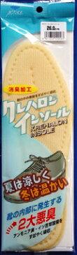 NO.KS101クレハロン男性用中敷き(インソール)消臭加工21.0〜28.0cm