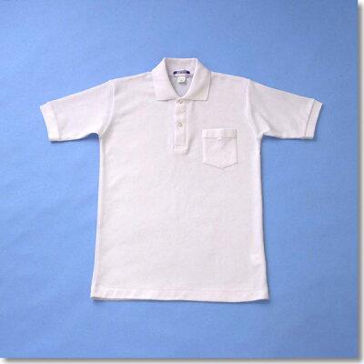 通学にも体操服にも!半袖ポロシャツ160-175