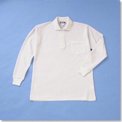 通学にも体操服にも!長袖ポロシャツ120-150