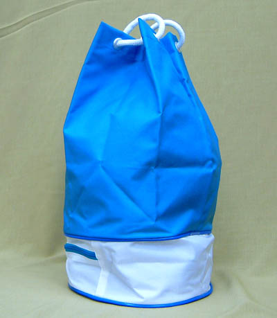 Swimming article foot mark double bottom swimming bag fs3gm