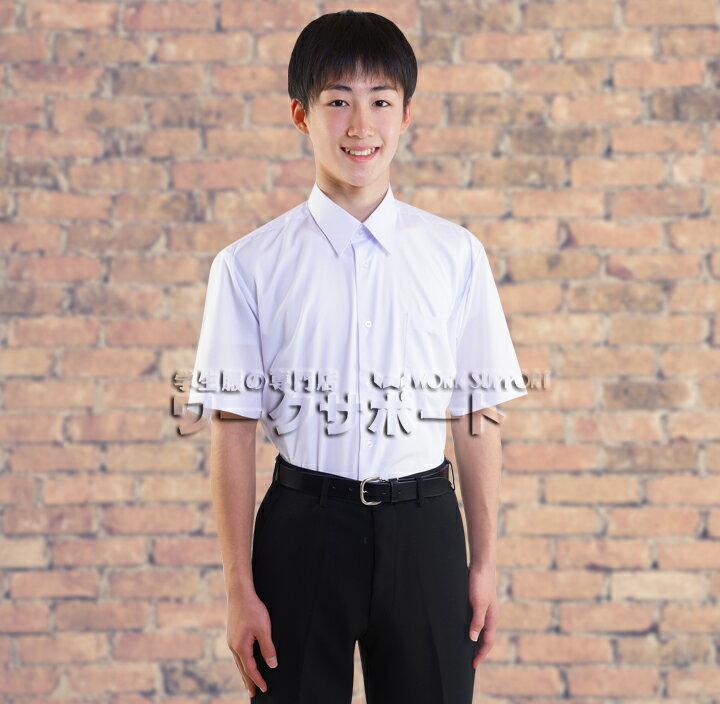 学生シャツ(半袖)>形態安定半袖カッターシャツ