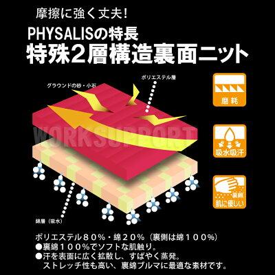 ブルマ体操服PHYSALISR2型/57型日本製S〜4L後期型ハイカットブルマー2本ライン【メール便送料無料】