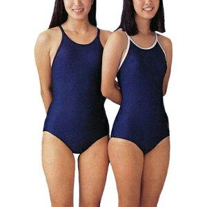 FOOT MARK製。学校用スクール水着 女子用として旧型と共に昭和時代からの定番スタイルです。品...