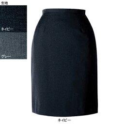 事務服・制服・オフィスウェア ヌーヴォ FS4052 セミタイトスカート 11号・ネイビー1