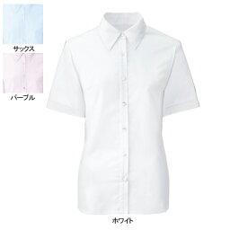 事務服・制服・オフィスウェア ヌーヴォ FB71029 ブラウス(半袖) 7号・ホワイト1