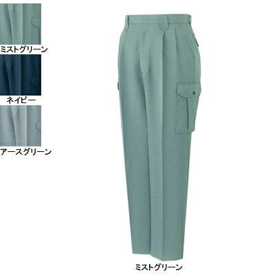 作業着 作業服 作業ズボン 自重堂 41902 エコツータックカーゴパンツ 70・ミストグリーン072
