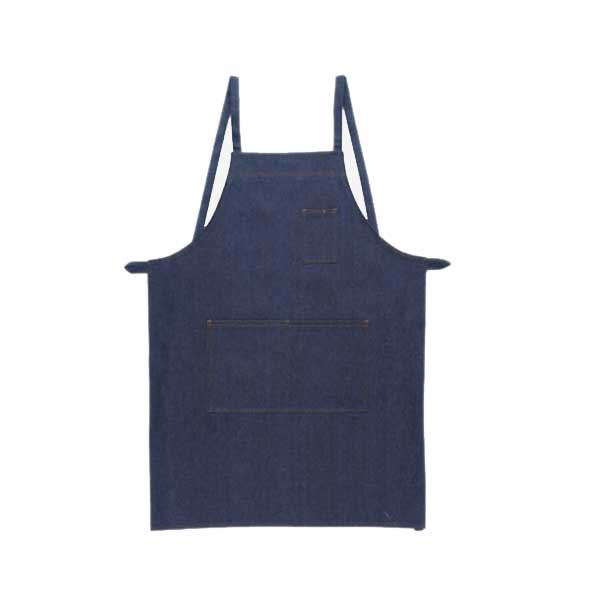 To 10022 all cotton denim apron cord work gardening kitchens use!