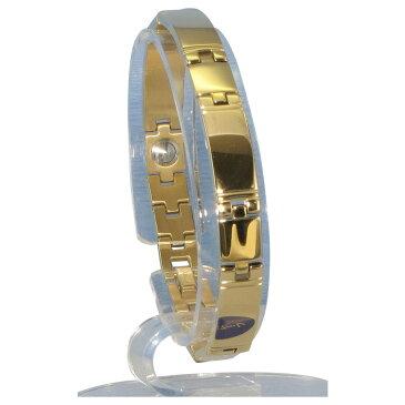 MARE(マーレ) ゲルマニウム5個付ブレスレット GOLD/IP ミラー 118G S (17.5cm) H1103-33S