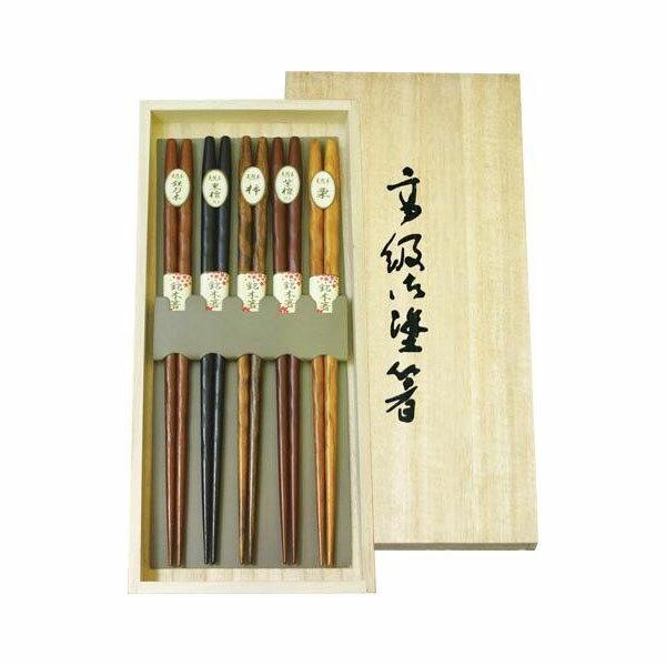 OF11-21 丸十 彫刻生活箸 桐箱入