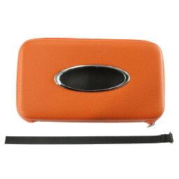 AWESOME(オーサム) マルチカラーティッシュケース オレンジ AST-M01