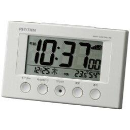 電波デジタル目覚まし時計 8RZ166SR03 3182-088