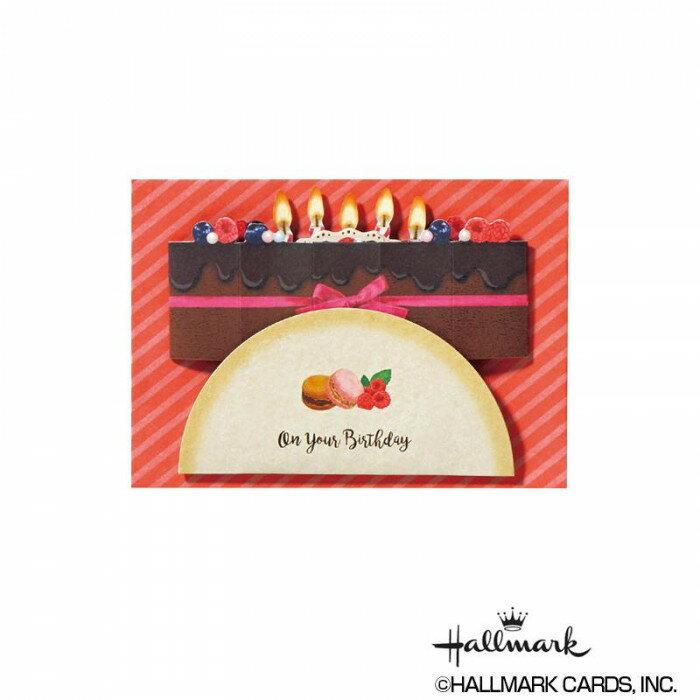 Hallmark ホールマーク グリーティングカード SNSチョコケーキ 6セット 732455【送料無料】