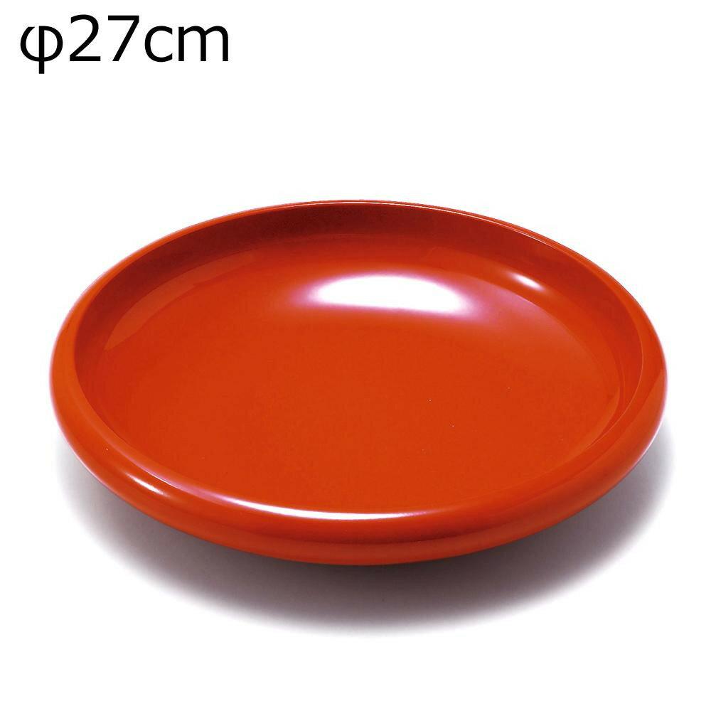 東出漆器 9.0飛鳥鉢 洗朱 22013【】