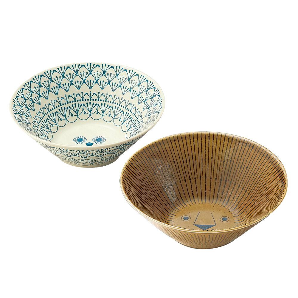 三郷陶器 Sango Mikke(ミッケ) ペアボウルL 6791-01