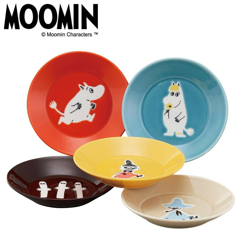 MOOMIN ムーミン ONE BY ONE ファイブプレートセット MM1300-57