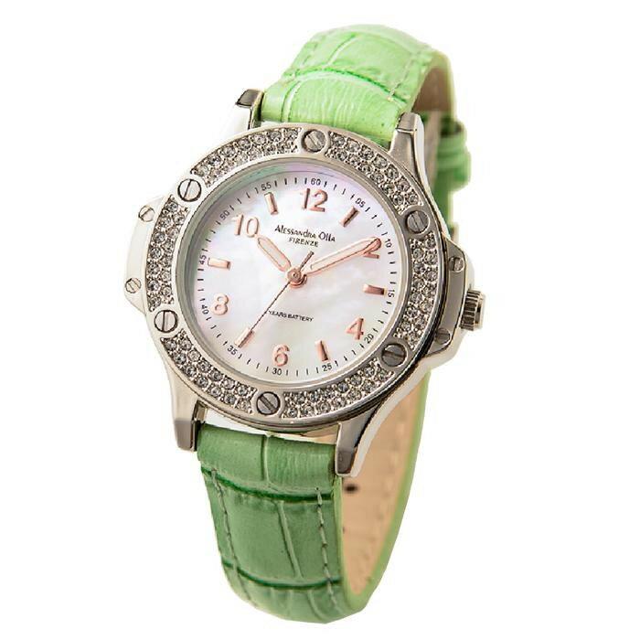 アレサンドラオーラ Alessandra Olla 腕時計 AO-85 GR