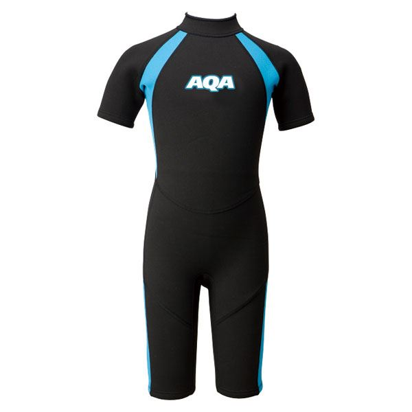 【送料無料】AQA(アクア)キッズスーツスプリングIIKW4504Aブラック×ライトブルー110