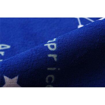 【送料無料】抗菌・防臭 ウォッシャブル フランネル ホットカーペットカバー 『WSミリオン RUG』 ネイビー約185×185cm