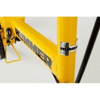 【送料無料】折畳み自転車HUMMERFDB20RMG-HM20R【】