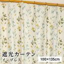 【送料無料】遮光カーテン/サンシェード 2枚組 【100cm×135c...