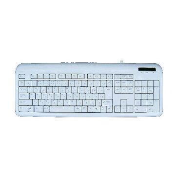 【送料無料】(まとめ)アオテック フルサイズ109キー日本語キーボード ホワイト AOK-109UPW【×3セット】