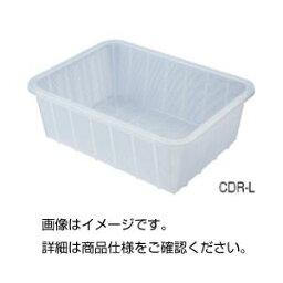 (まとめ)深型バスケット(クリア)CDR-S【×10セット】