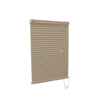 【送料無料】アルミ製 ブラインド 【遮熱コート 128cm×138cm カルアベージュ】 日本製 折れにくい 光量調節 熱効率向上 『ティオリオ』【代引不可】