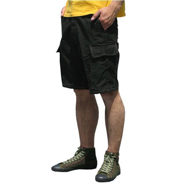 山岳猟兵用登山パンツ ドイツ連邦国軍 モルスキンショートパンツ 後染め ブラック Gr7(84cm)