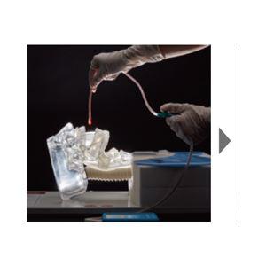 透明吸引説明模型/看護実習モデル 「ミエール キュウイン」 LED付き吸引チューブ付き M-175-1【代引不可】