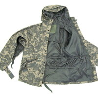 【送料無料】アメリカ軍ECWCS-1ジャケット/パーカー【Sサイズ】透湿防水素材JP041YNネイビー【レプリカ】