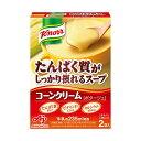 【送料無料】(まとめ)味の素 クノールたんぱく質がしっかり摂れるスープ コーンクリーム 29.2g/袋 1パ...