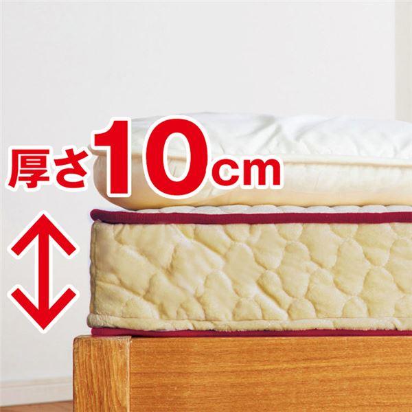 日本製マットレスエクセレントスリーパー5 厚さ10cm セミダブル 硬質