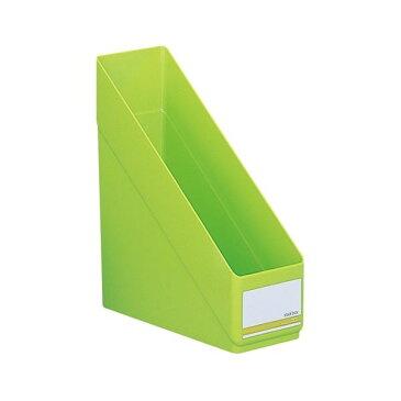 【送料無料】(まとめ)LIHITLAB スタックボックス リクエスト G1610-6 黄緑【×30セット】