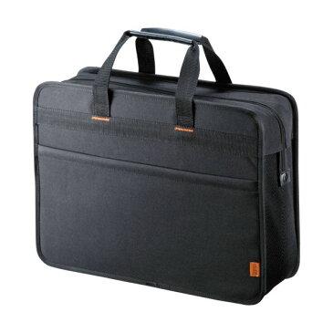 【送料無料】サンワサプライらくらくPCキャリーL(鍵付き) 15.6型ワイド対応 BAG-BOX2BK2 1個