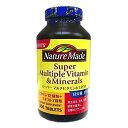 ネイチャーメイド Nature Made スーパーマルチビタミン&ミネラル 300粒 サプリメント