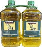 KIRKLAND SIGNATURE  カークランドシグネイチャー ピュアオリーブオイル5.4Kg(2.7Kg×2) オリーブオイル 大容量 コストコ