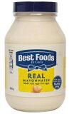 ベストフーズ マヨネーズ 860g グルテンフリー コーシャ−認定 100%ケージフリー卵 サンドイッチ ディップ クリーミー