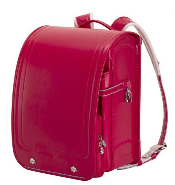 ふわりぃ ランドセル 2021年度 モデル ビビッド ピンク x ビビッド ピンク School Bag Randsel 2021 Vivid Pink x Vivid Pink